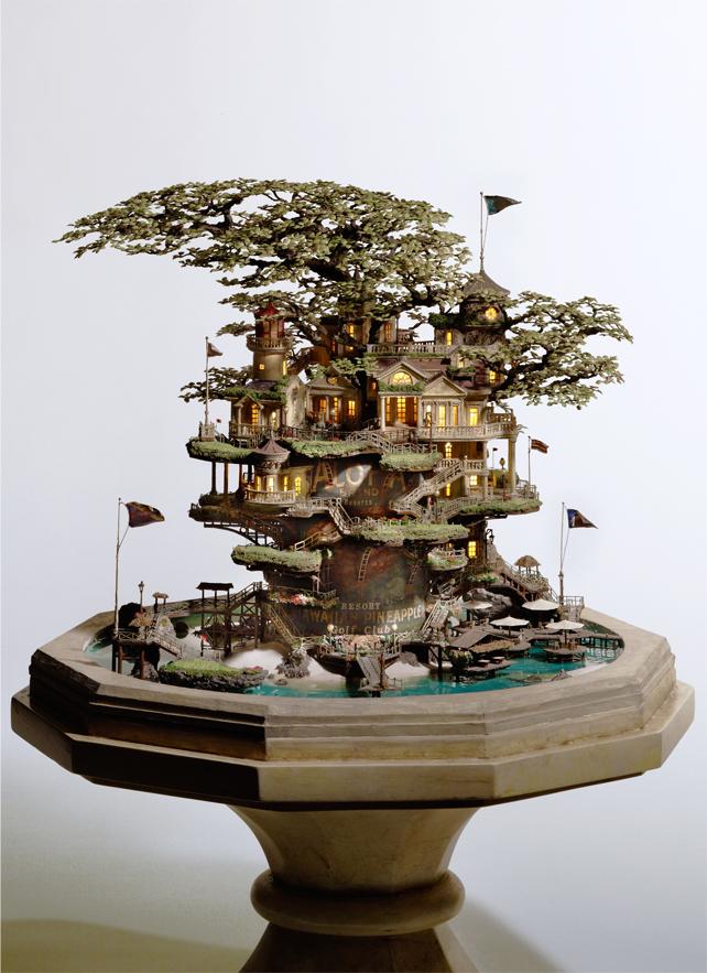 12106 Города под колпаком   удивительные работы Таканори Аибы