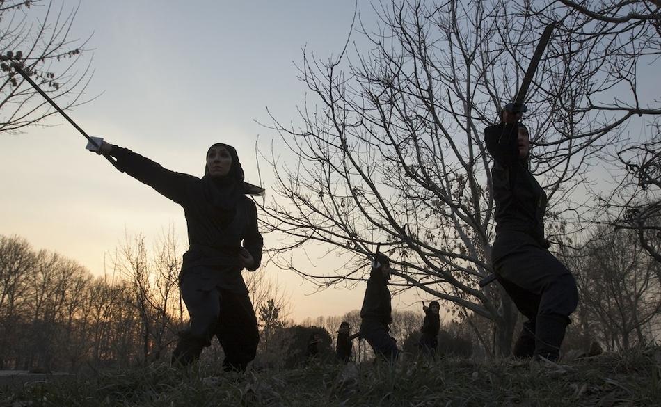 12112 Иранские женщины ниндзя