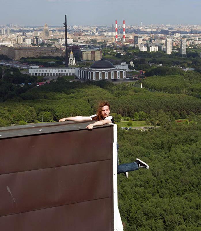12117 Экстремальный городской альпинизм в России