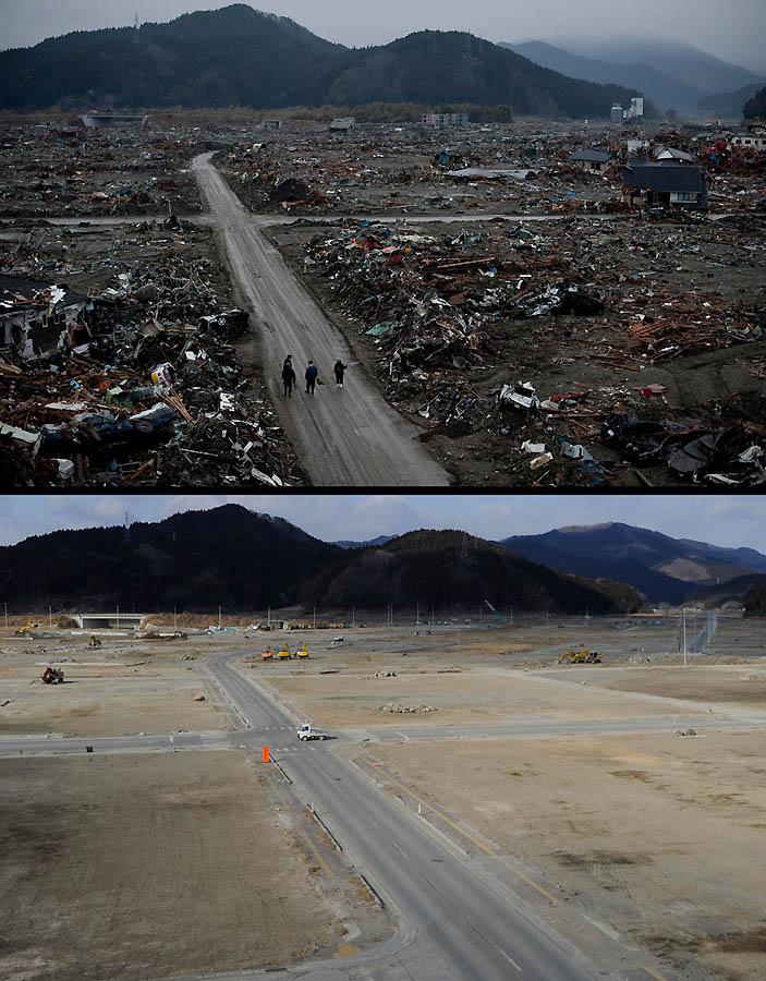 12122 Как Япония восстановилась после землетрясения и цунами