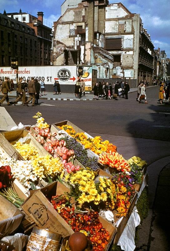 1219 Цветные фото Лондона времен Второй мировой