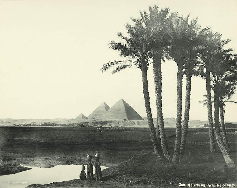 1222 Фотографии из Египта 1870 х годов