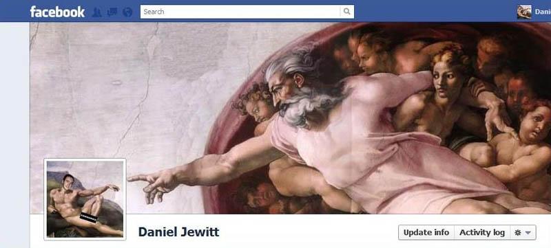 1255 25 забавных и креативных обложек приложения Timeline для Facebook