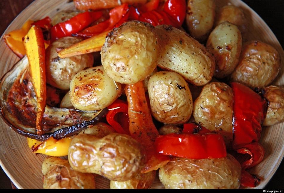Запекаем овощи в духовке рецепты