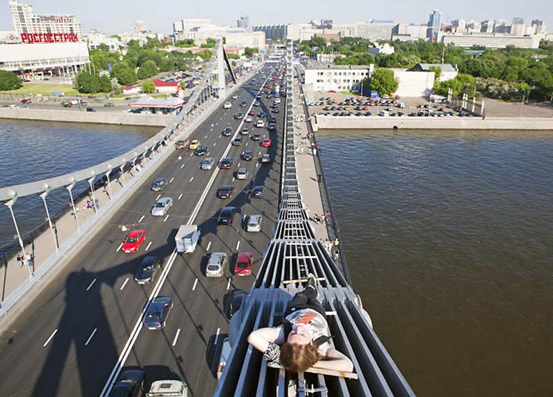 13104 Экстремальный городской альпинизм в России