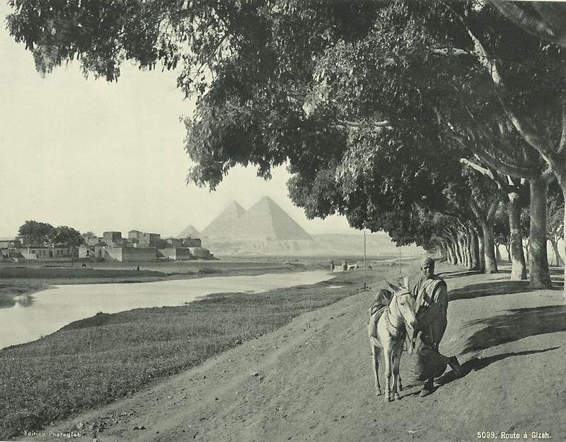 1320 Фотографии из Египта 1870 х годов