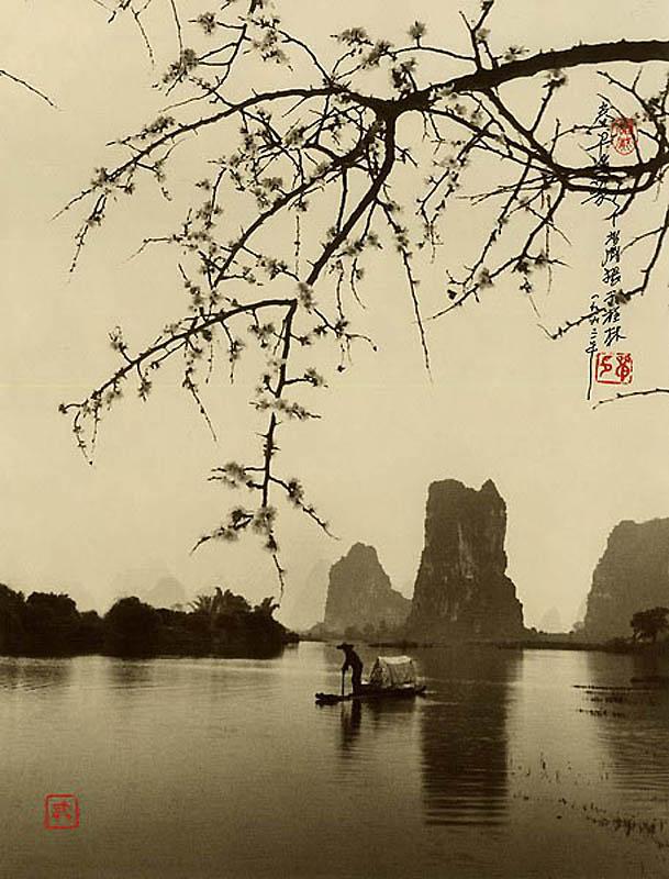 1329 Фотографии в стиле традиционной китайской живописи
