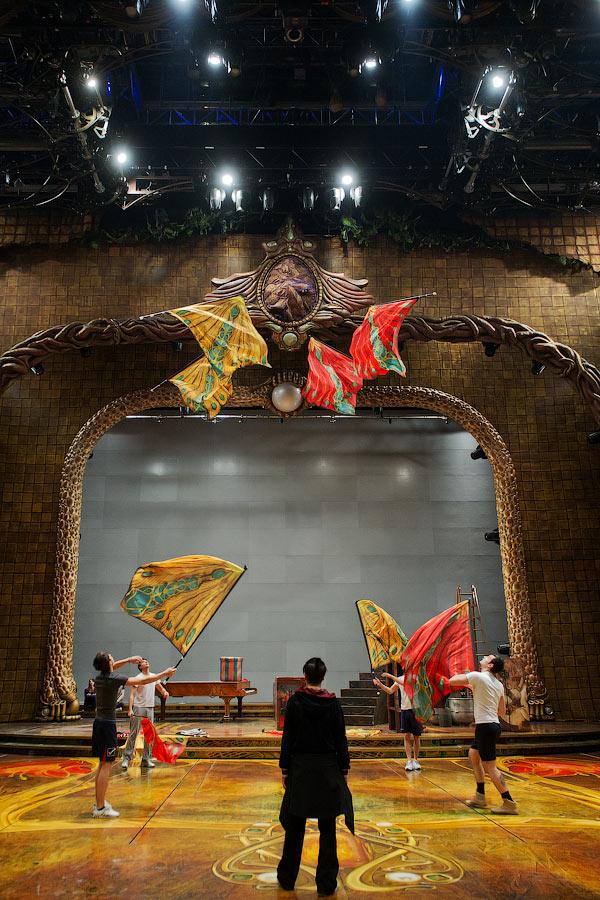 1384 Cirque du Soleil в Кремле