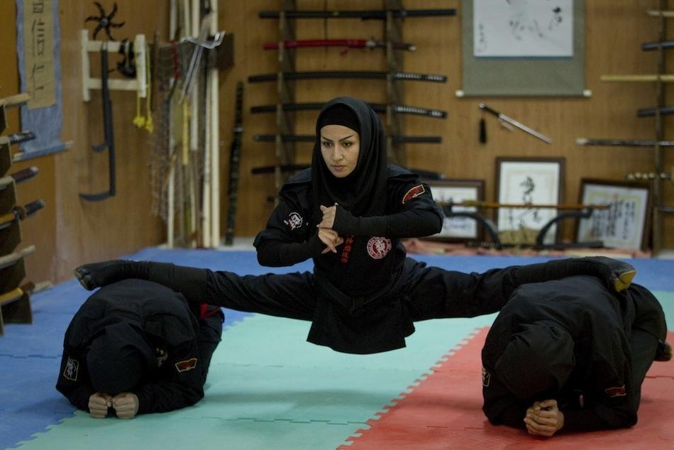 1398 Иранские женщины ниндзя