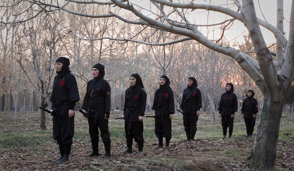 1399 Иранские женщины ниндзя