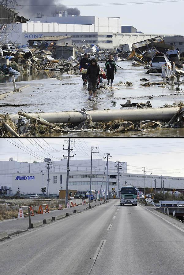 14101 Как Япония восстановилась после землетрясения и цунами