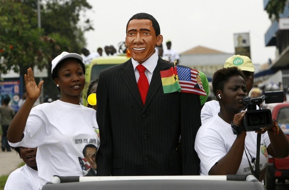 14106 Strange Carnival platform with Obama
