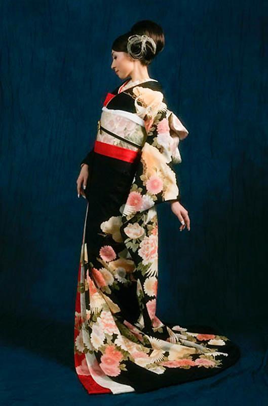 14109 Свадебные кимоно конца 19   начала 20 века