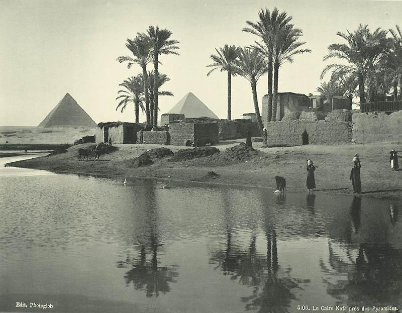 1419 Фотографии из Египта 1870 х годов