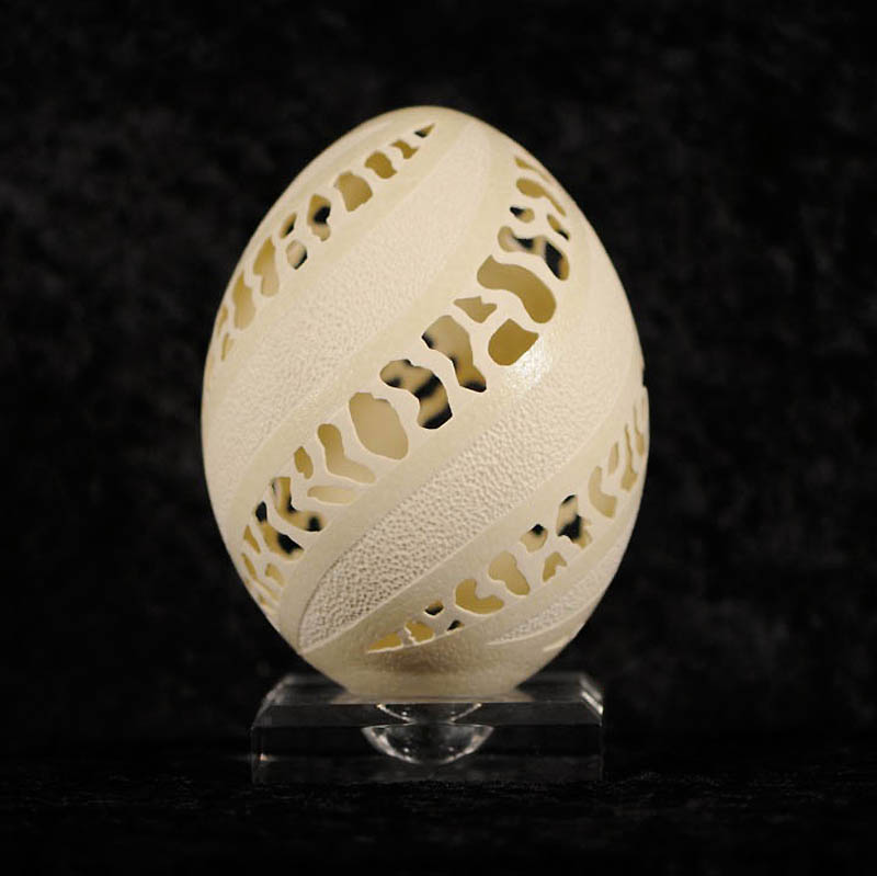 1459 Ажурные шедевры: Резная яичная скорлупа от Брайан Бэйти