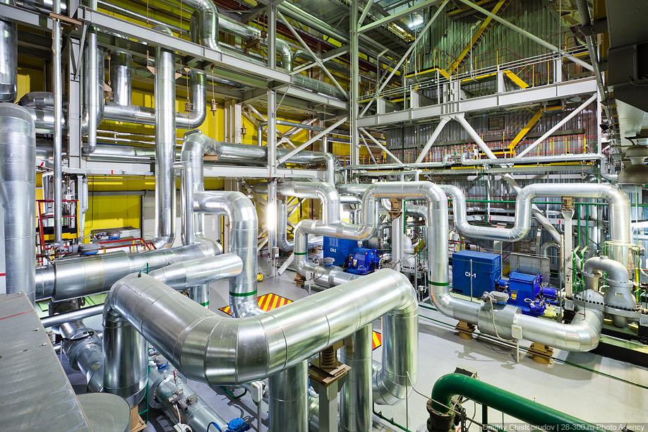 Как украсть новейшую газотурбинную теплоэлектростанцию?
