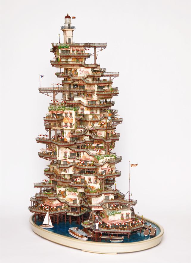 1485 Города под колпаком   удивительные работы Таканори Аибы