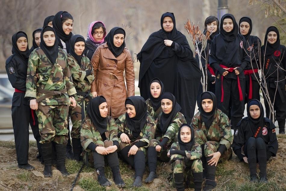 1491 Иранские женщины ниндзя