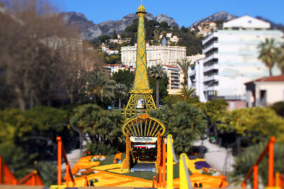 1500 Цитрон   лимонный фестиваль во Франции
