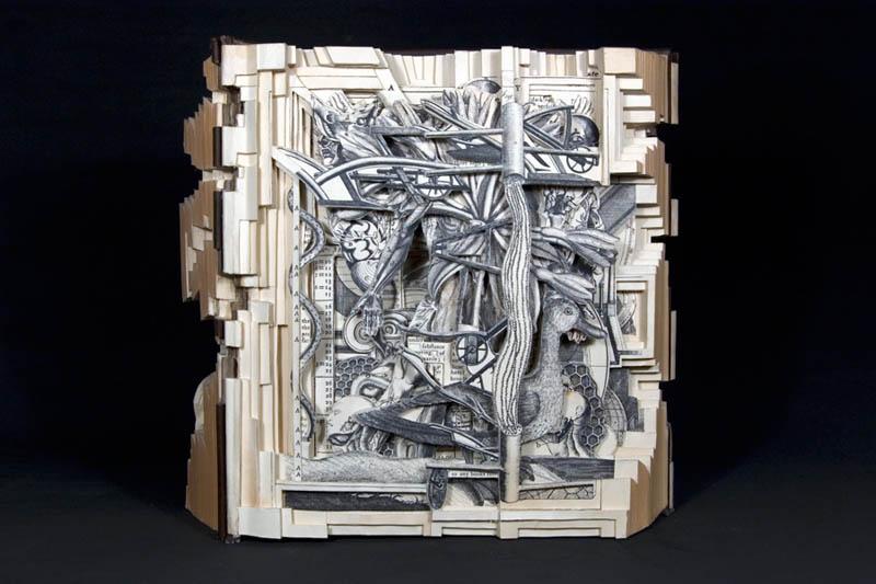1524 Резьба по книгам Брайана Деттмера
