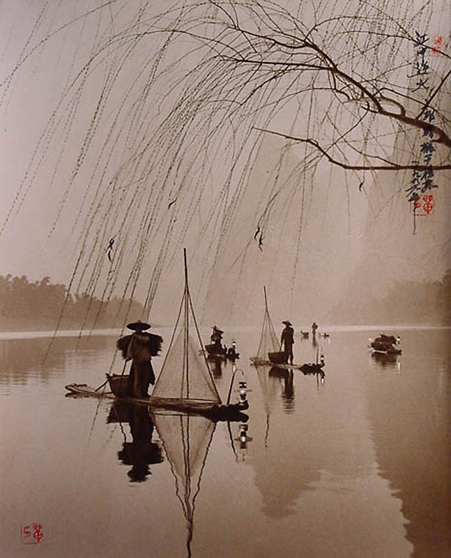 Фотографии в стиле традиционной китайской живописи