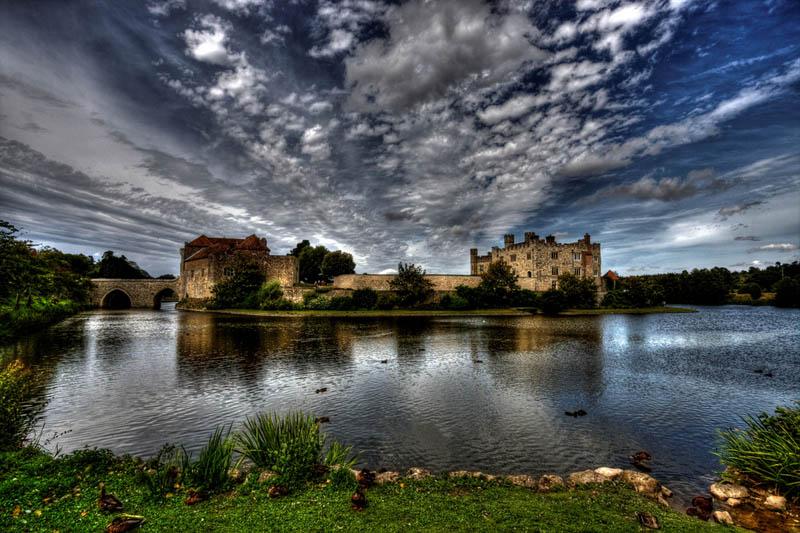 1536 Замки на воде или 20 самых красивых замковых рвов в мире