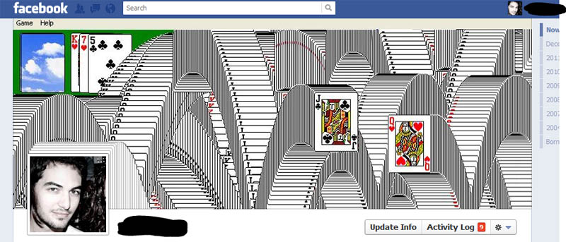1548 25 забавных и креативных обложек приложения Timeline для Facebook
