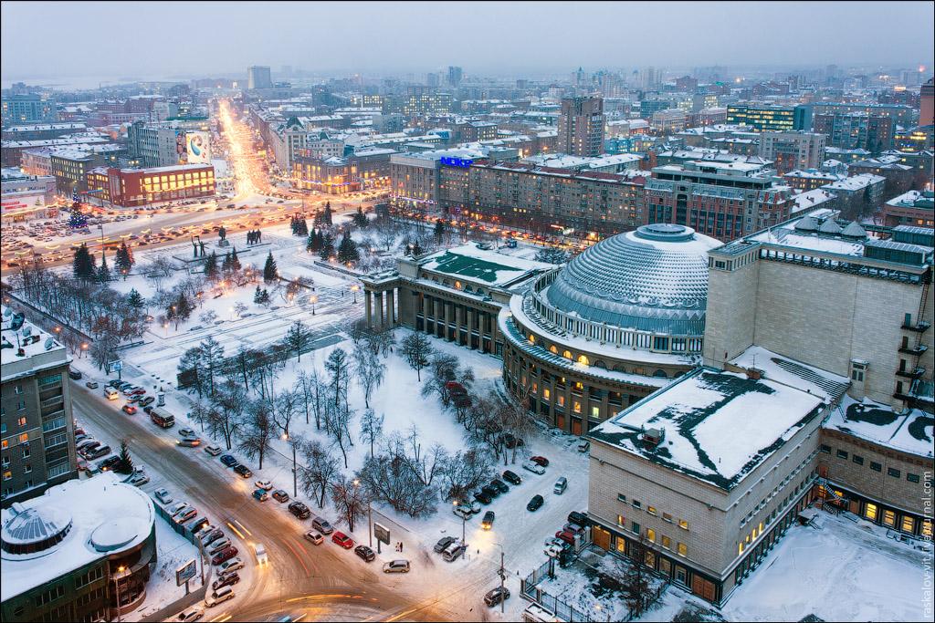 1560 Высотный Новосибирск от Виталия Раскалова