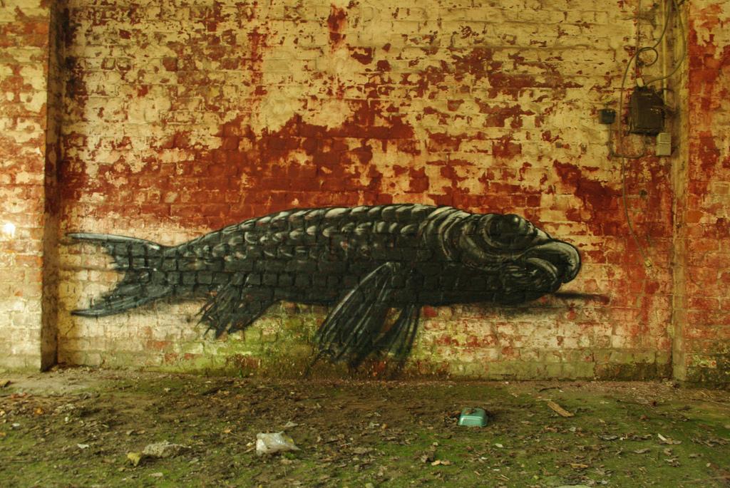 15800000 Животный стрит арт от бельгийского граффитчика ROA