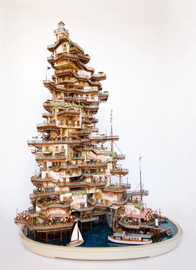 1582 Города под колпаком   удивительные работы Таканори Аибы