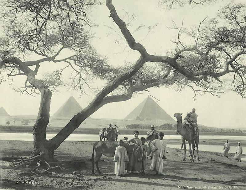 1614 Фотографии из Египта 1870 х годов