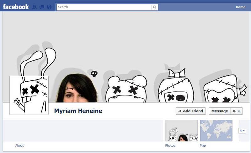 1644 25 забавных и креативных обложек приложения Timeline для Facebook