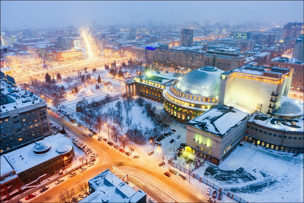 1655 Высотный Новосибирск от Виталия Раскалова