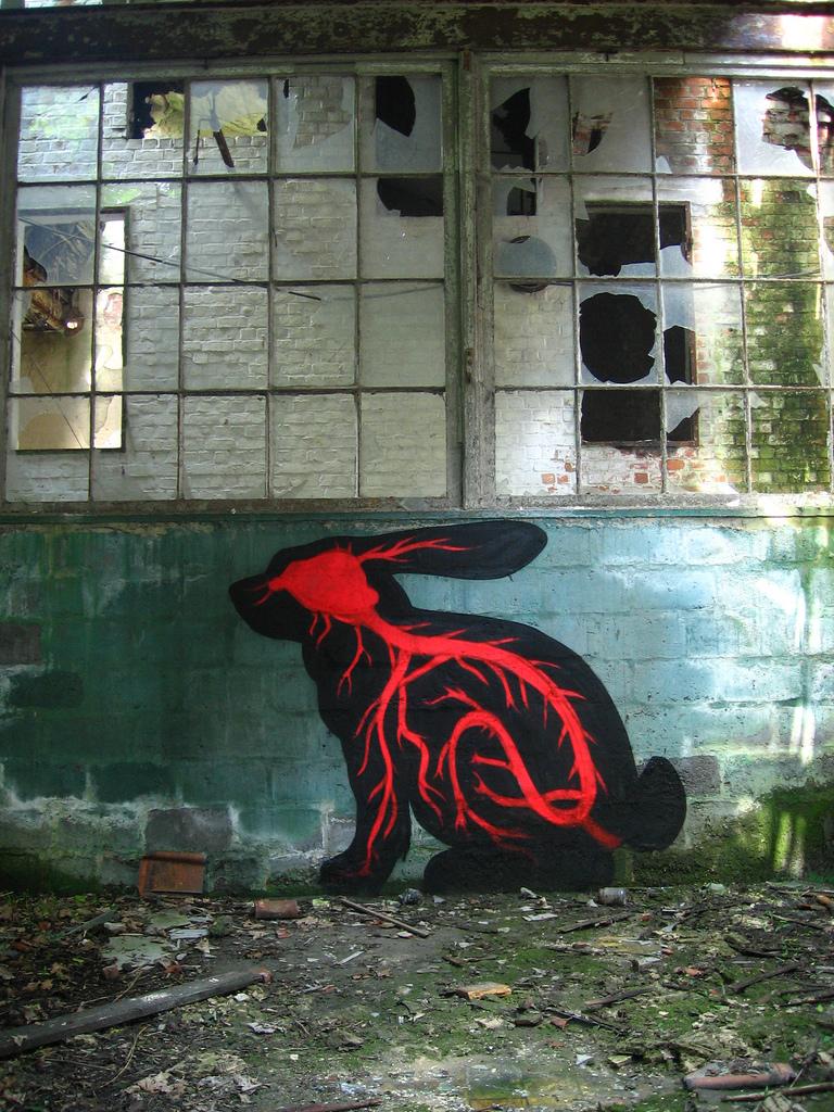 17100000 Животный стрит арт от бельгийского граффитчика ROA