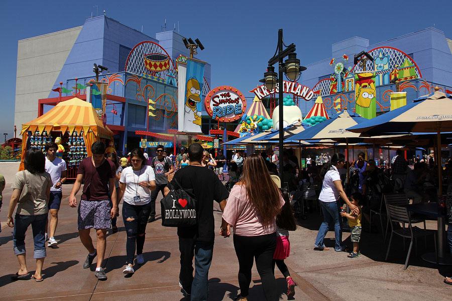 17102 Universal Studios в Лос Анджелесе