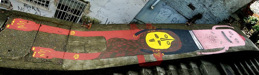 17260000 Абстрактный стрит арт от Junkhouse