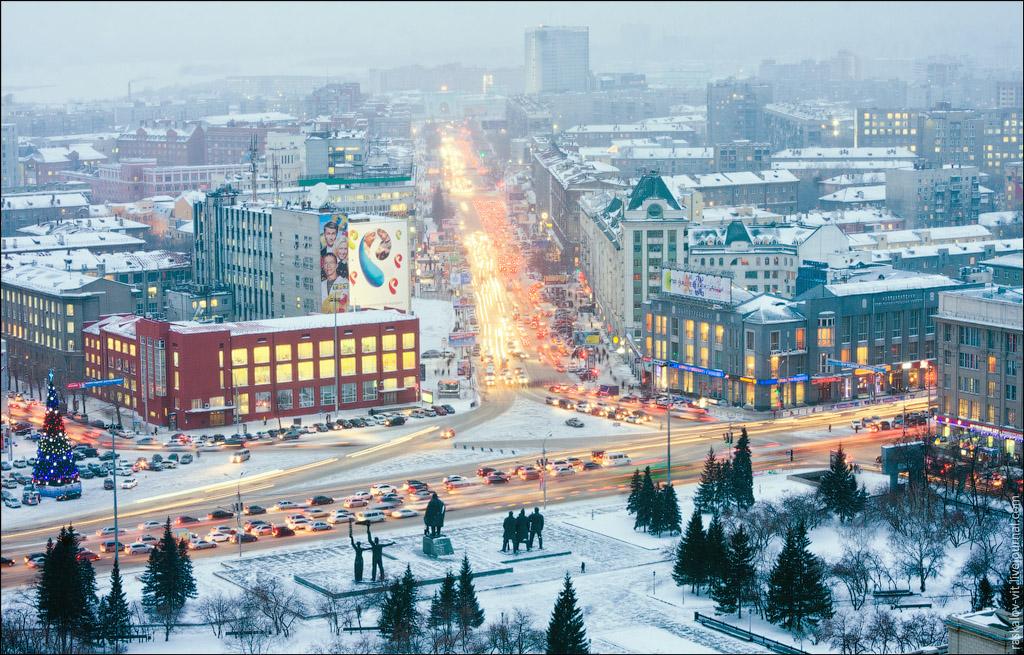 1753 Высотный Новосибирск от Виталия Раскалова