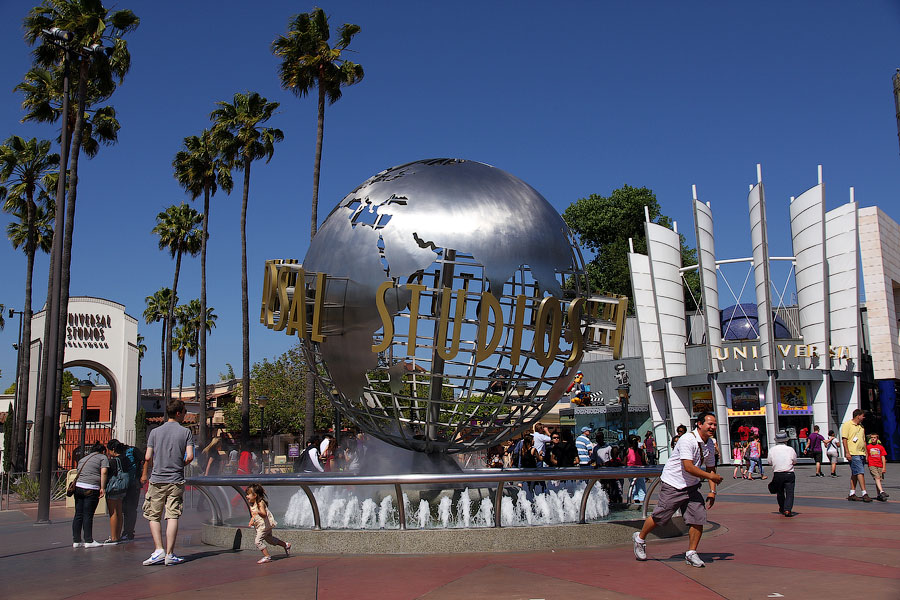 1803 Universal Studios в Лос Анджелесе