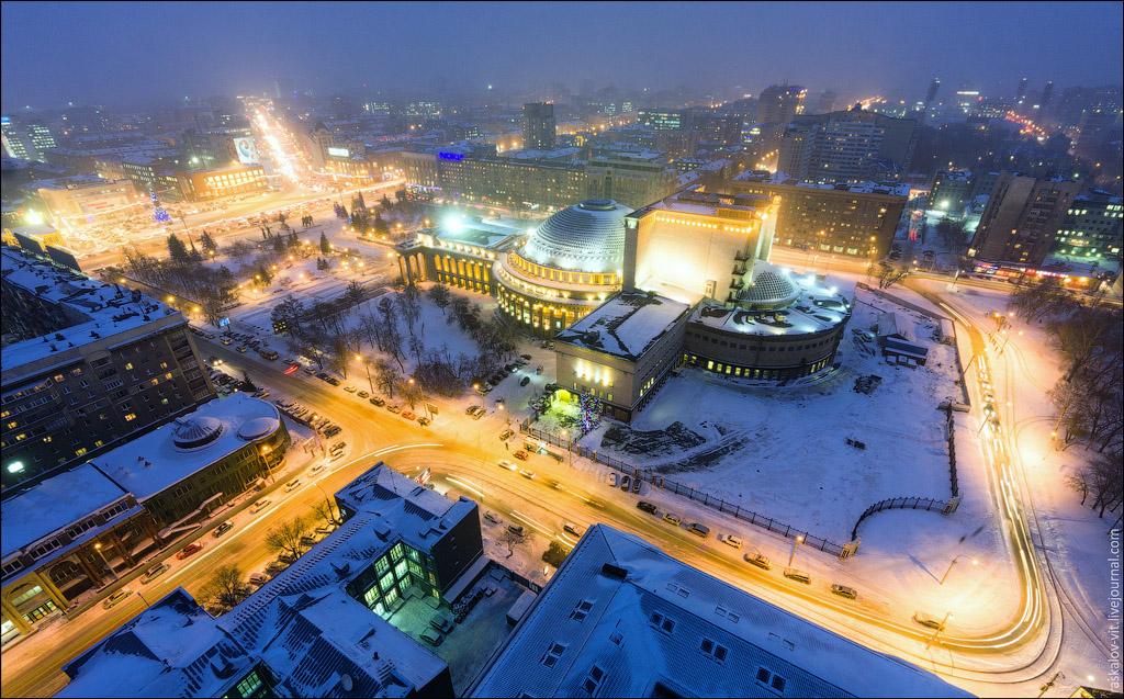 1852 Высотный Новосибирск от Виталия Раскалова