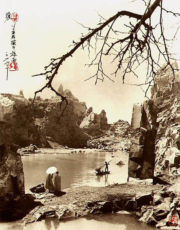 1920 Фотографии в стиле традиционной китайской живописи