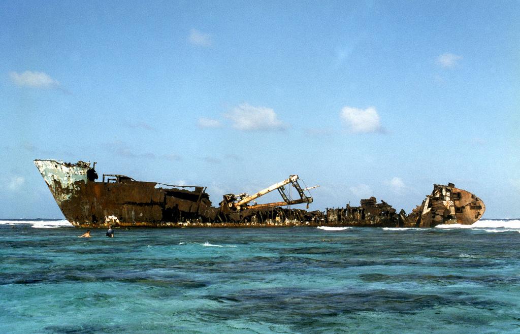1949 Живописные последствия кораблекрушений
