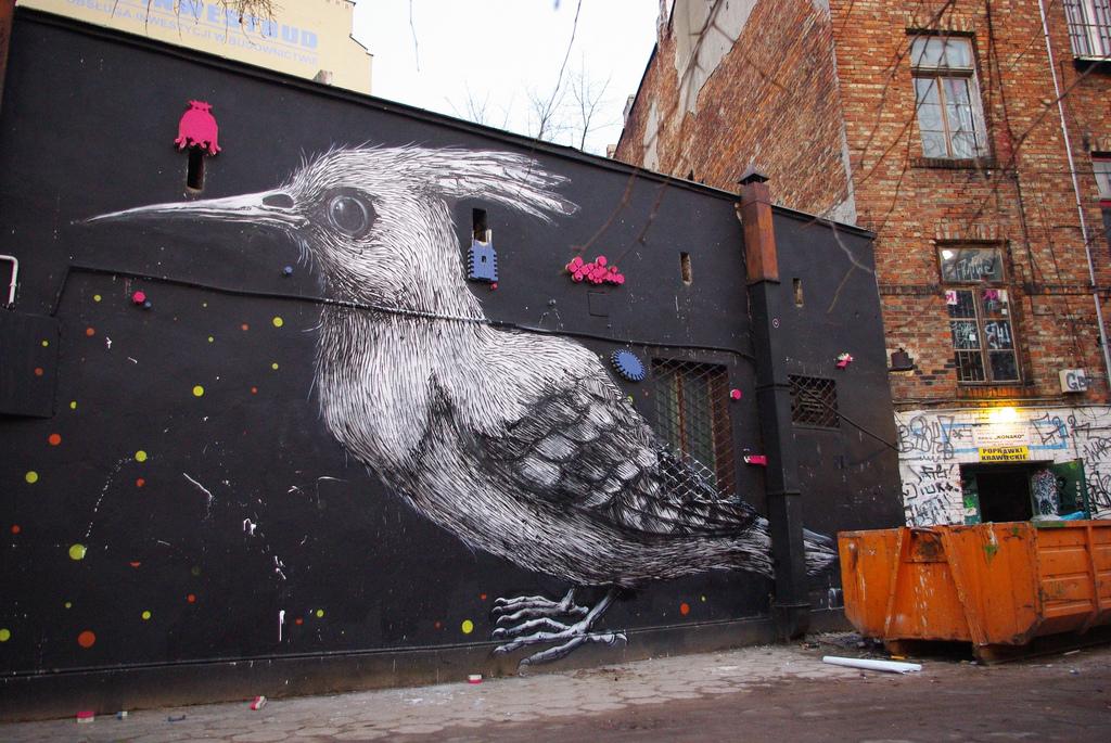 19700000 Животный стрит арт от бельгийского граффитчика ROA