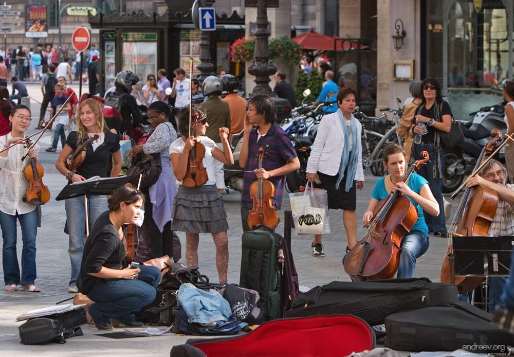 2012 Париж: уличная жизнь