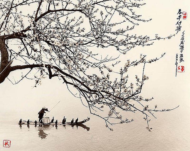 2018 Фотографии в стиле традиционной китайской живописи