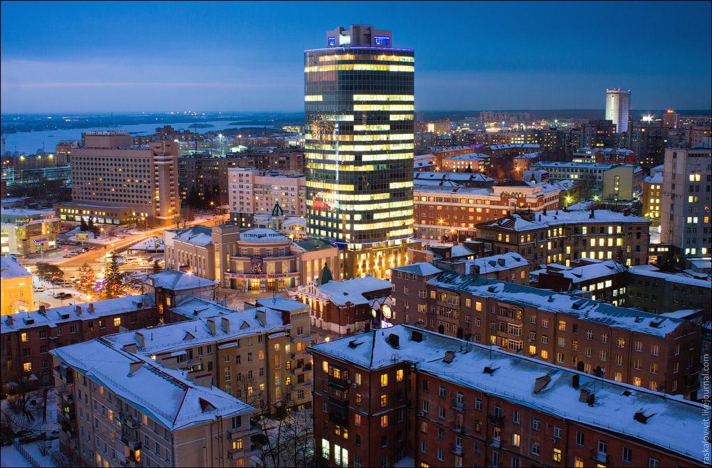 2043 Высотный Новосибирск от Виталия Раскалова