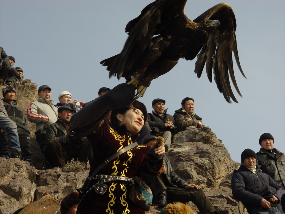 2046 Фоторепортаж с соревнований по охоте с ловчими птицами
