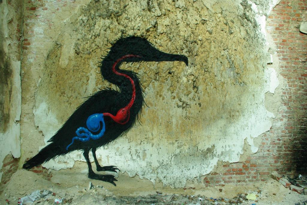 20800000 Животный стрит арт от бельгийского граффитчика ROA
