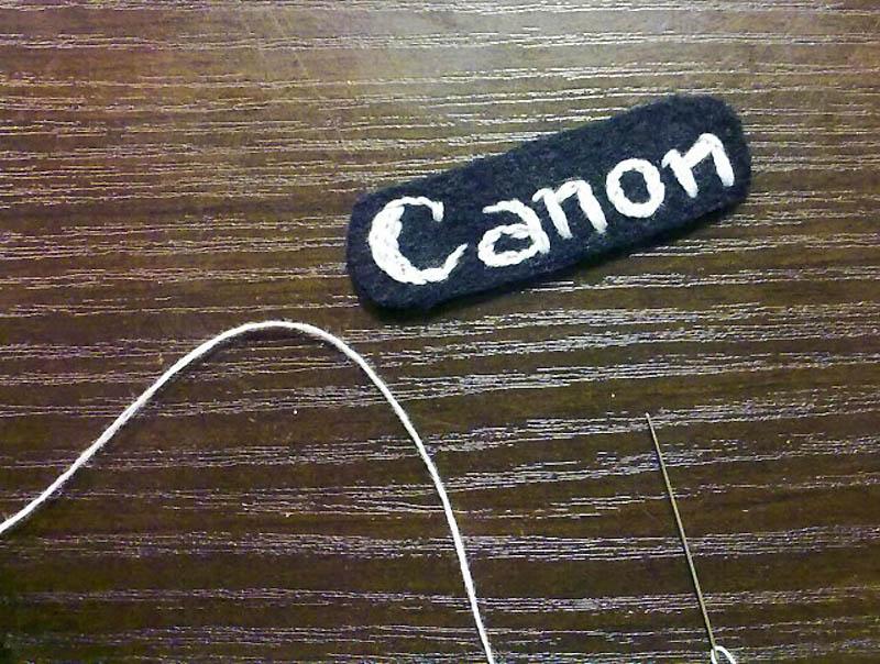 2171 Необычный подарок: фотоаппарат мягкая игрушка