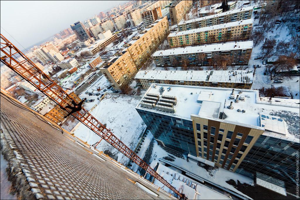2185 Высотный Новосибирск от Виталия Раскалова