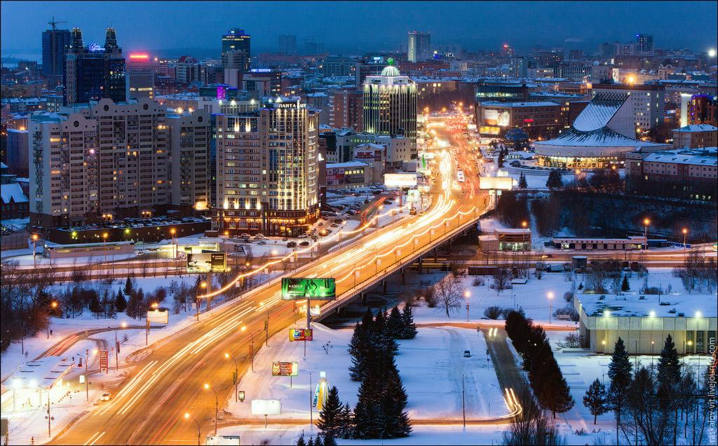 2186 Высотный Новосибирск от Виталия Раскалова